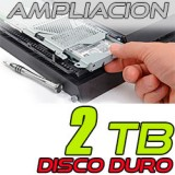 2 TB Disco duro PlayStation 3 y 4