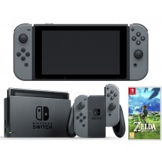 Nintendo Switch Black + 1 Juego Zelda