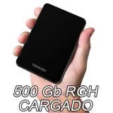 500 Gb USB - RGH + 40 Juegos